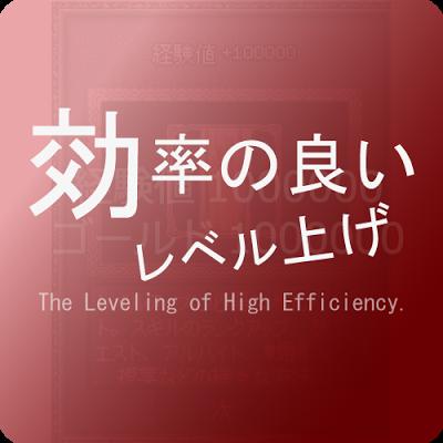 マビノギ・効率とレベル上げ 後編