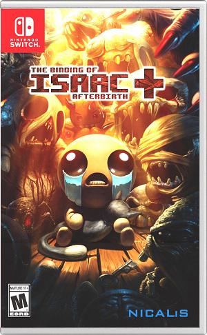 任天堂スイッチソフト「 The Binding of Isaac: Afterbirth+ 」