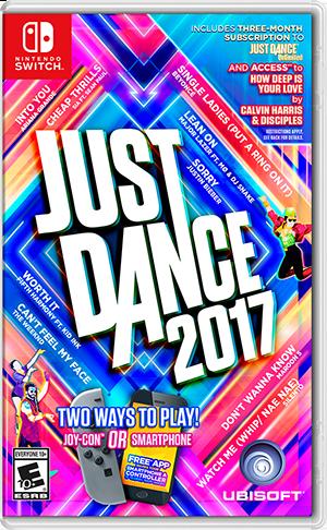 任天堂スイッチソフト「 Just Dance 2017 」