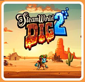 任天堂スイッチソフト「 SteamWorld Dig 2 」