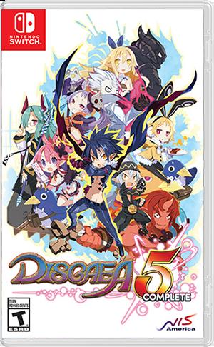 任天堂スイッチソフト「魔界戦記ディスガイア 5 」