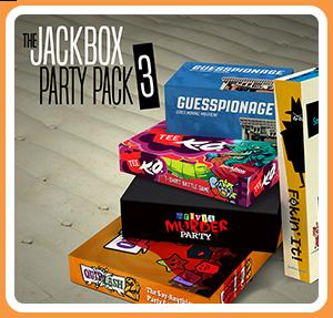 任天堂スイッチソフト「 The Jackbox Party Pack 3 」