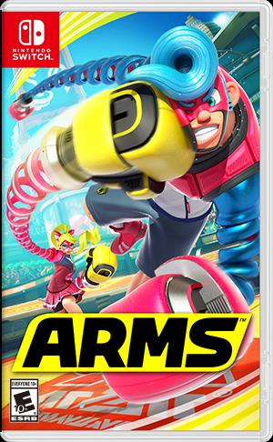 任天堂スイッチソフト「 ARMS 」