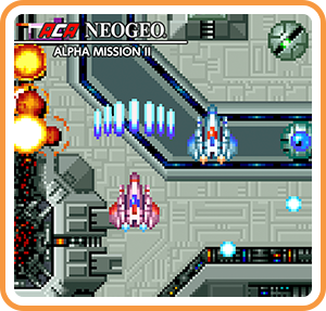 任天堂スイッチソフト「 ACA NEOGEO ALPHA MISSION II 」