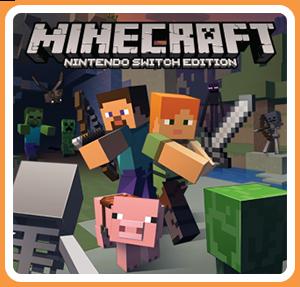 任天堂スイッチソフト「 Minecraft: Nintendo Switch Edition 」