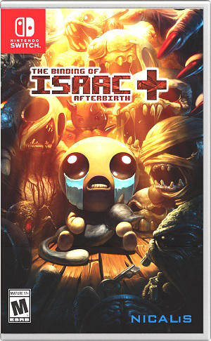 任天堂スイッチソフト「 The Binding of Isaac: Afterbirth+ 」