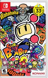 任天堂スイッチソフト「スーパーボンバーマン R 」