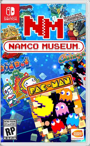 任天堂スイッチソフト「 NAMCO MUSEUM 」