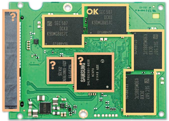 SSDコントローラとDRAMは故障しにくい