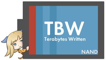 SSDの寿命を示す指標「TBW」