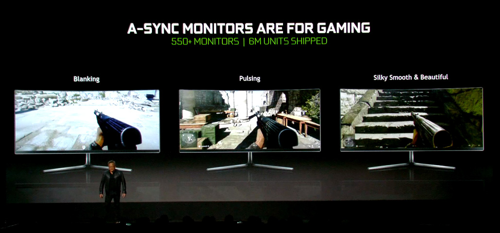 G-SYNC Compatible Monitorsについて