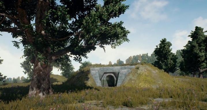 pubg shelter 地下トンネル のマップ ちもろぐ