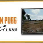 無料で、PUBGを「21:9」のディスプレイで有利にプレイする方法