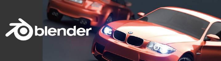 Blender(BMWレンダリング)