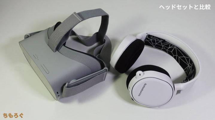 Oculus Goとヘッドセットを比較
