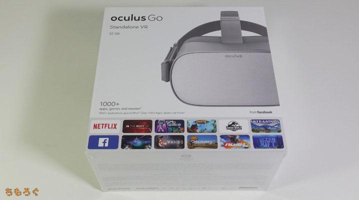 Oculus Goの化粧箱(正面)