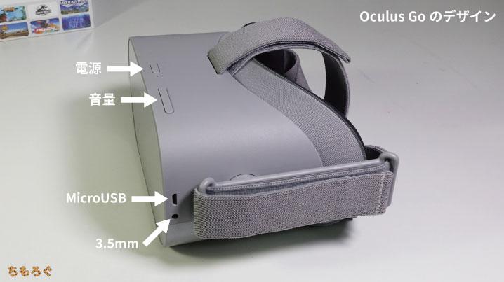 Oculus Go(インターフェイス類)