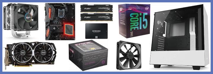 【予算15万】Core i5 + GTX 1060で自作PC