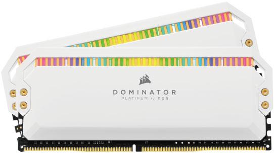 09. ホワイトカラーで上品な 「Dominator Platinum RGB」