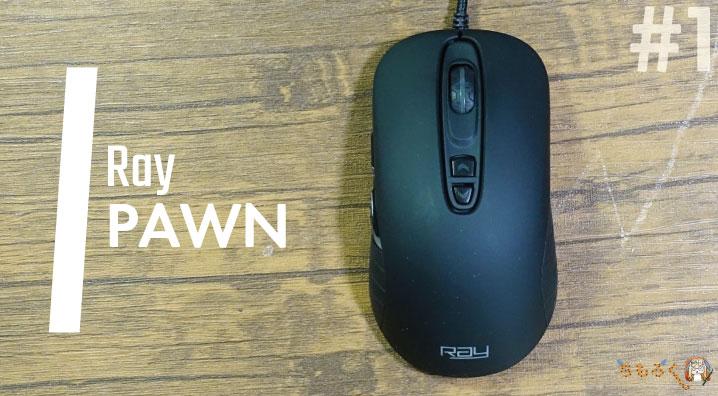 【No.1】おすすめなゲーミングマウス「Ray PAWN」