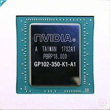 GTX 1080 Tiのダイショット