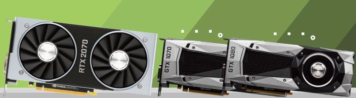 RTX 2070の性能はGTX 1080すら超える