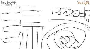 Ray PAWNのジッタを計測(12000dpi)