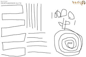 Razer Deathadder Eliteのジッタを計測(16000dpi)