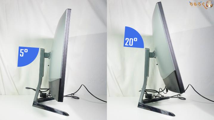 BenQ EX3200Rのティルト機能