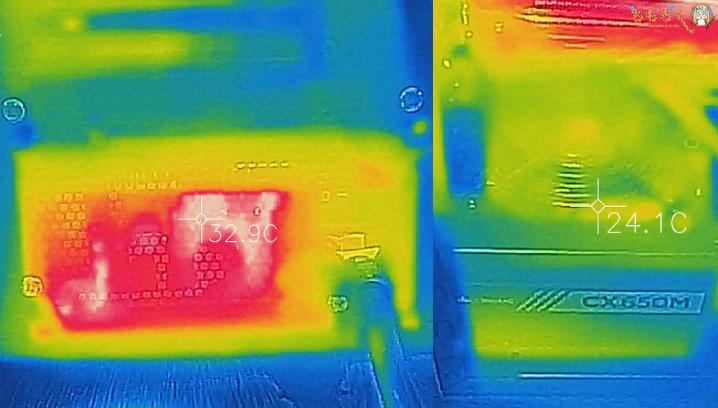 ガレリアXFのエアフローと温度
