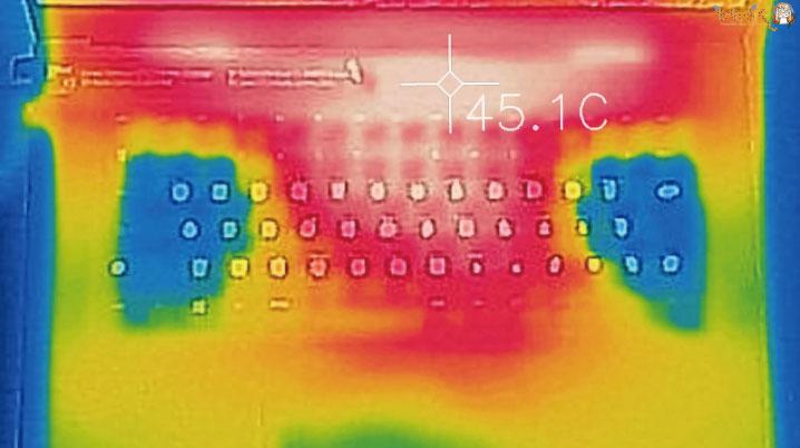 Razer Blade 15の発熱をサーモグラフィーで検証