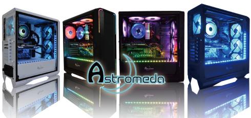 「Astromeda」は日本初の光るゲーミングPCブランド