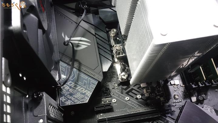 ガレリアZZ-SLIを内部パーツをチェック