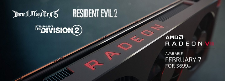 Radeon VIIの価格設定と発売予定日