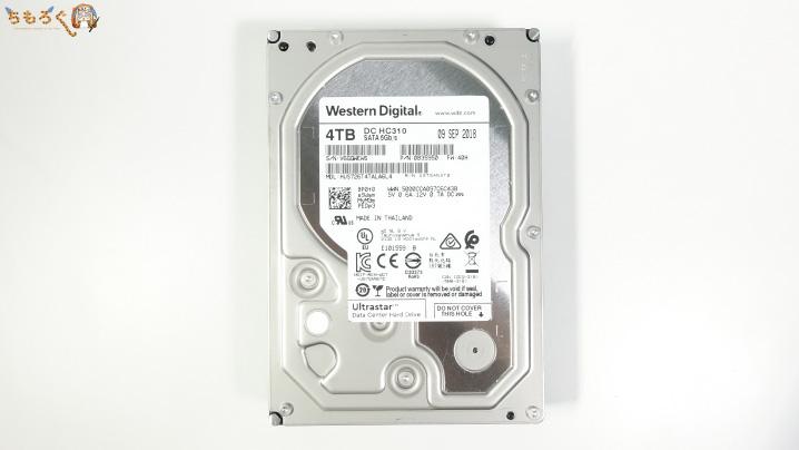 DC HC310(4TB)を開封レビュー