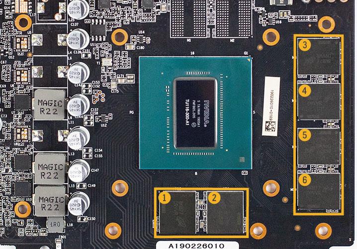 GTX 1660のVRAM