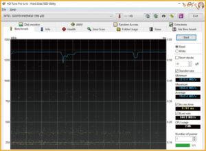 Intel 760pをベンチマーク(HD Tune Pro)