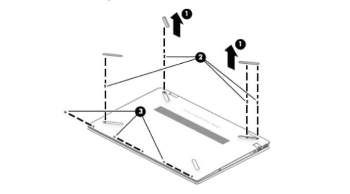 HP Pavilion 15 cs-0000(分解方法)