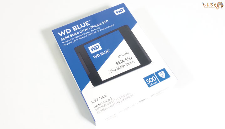 WD Blue 3D SSDを開封レビュー