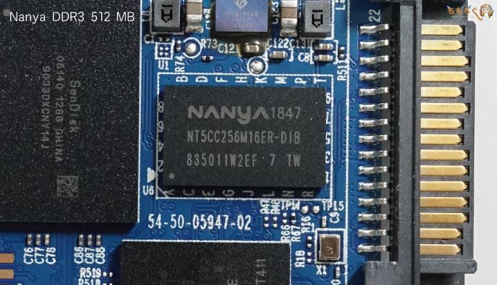 WD Blue 3DのDRAMはNanya製