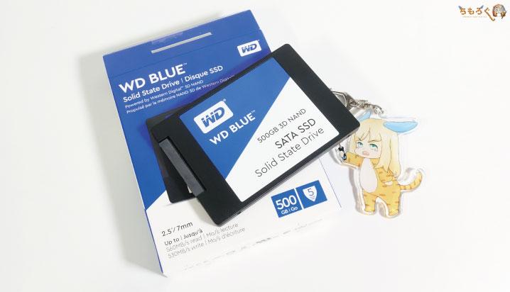 コスパに優れた一級SSD「WD Blue 3D SSD」