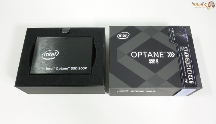 Optane 900p U.2版を開封レビュー