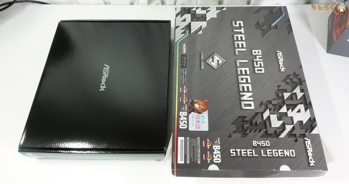 ASRock B450 Steel Legendを開封レビュー