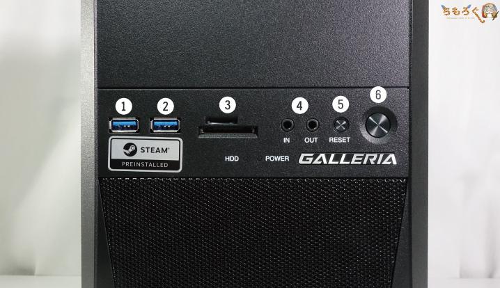 ガレリアRJ5を実機レビュー(写真)