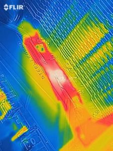ASRock B450 Steel LegendのVRMフェーズの発熱(温度)