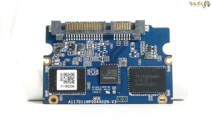 CFD SSD CG3VXの基板コンポーネント