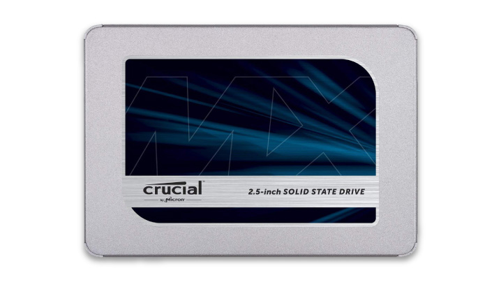 ゲーム用にベストな大容量SSD「Crucial MX500」