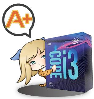 Core i3 9100Fのレビューまとめ