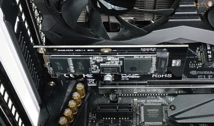 Adata XPG SX8200 Proのテスト環境