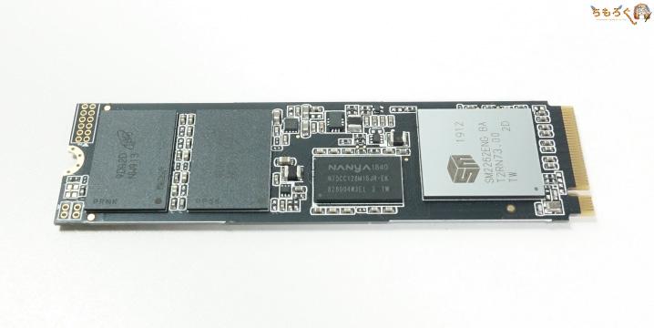 Adata XPG SX8200 Proの基板コンポーネント